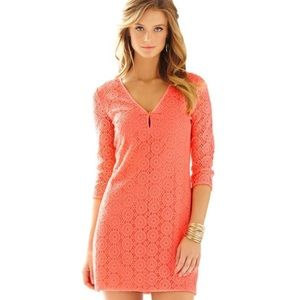 NWOT Lilly Pulitzer pink lamora dress